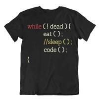 While Loop Tshirt Eat Sleep Code Tee Programmer Language T-Shirt Gift Shirt