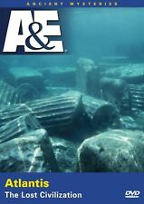 Atlantis:The Lost Civilisation. In Depths Doco. Brand New In Shrink!