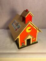 Vintage 1971 Fisher Price 923 Little People Play Family School House Only