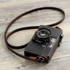 Genuine Leather Camera Neck Shoulder Strap Sling  for SLR DSLR Retro Brown New