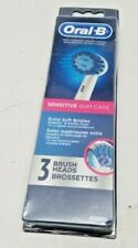 Oral-B Sensitive Gum Care Electric Toothbrush Brush Heads Refill, 3 pack