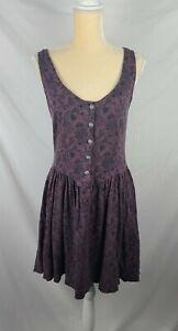 Free People Women's Paisley Print Sleeveless Sun Dress sz M