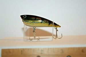 Fishing Lure Topwater Popper Yozuri Style Holographic Perch A38