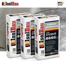 Bodenausgleichsmasse 2-20mm Ausgleichsmasse 3 x 25kg Selbstnivellierende C20