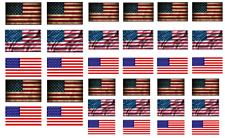 1/72 WW2 American flags on 100% cotton canvas. model/diorama military (1)