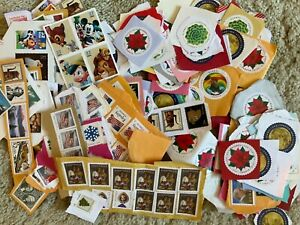 $318 USA POSTAGE STAMPS ON PAPER UNFRANKED Uncancelled Kiloware ...