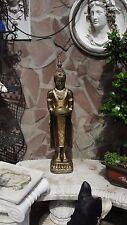 Thai Buddha Stehend Budda Teelichthalter Statue Garten Figur Tempelwächter  F110