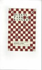 Division 1 Queens Park Rangers Teams O-R Football Programmes