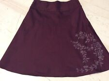 AUGUST SILK COLECTION SIZE 16 BURGUNDY COLOR.