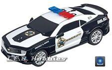Carrera GO!!! Chevrolet Camaro Sheriff, 1/43 analog slot car 64031