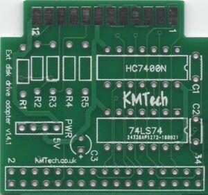 KMTech Gotek External Drive Adapter v1.41 for the Amiga PCB ONLY DIY !