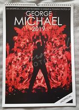 George Michael Unofficial Limited Edition Charity 2019 Calendar - Ready to ship