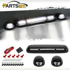 3PC Smoke 264155BK White 30LED Cab Roof Running Marker Lights Car Truck Off Road