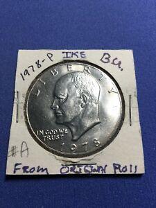 1978 P $1 Eisenhower IKE Dollar BU Uncirculated Mint From Original Roll #A