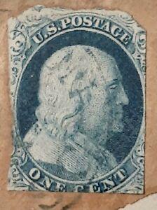 United States Scott # 9 used 1851