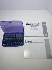 Lingo Lingotalk Translator Spanish German French Portuguese Tr-108 Tr-109 4data
