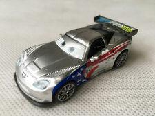 Mattel Disney Pixar Car 2 Metallic Jeff Gorvette Metal Diecast Toy Car New Loose