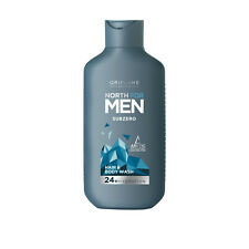 Oriflame NORTH for MEN Subzero HAIR & BODY SHAMPOO Boyfriend dad guy gift 35878