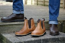 Chelsea Leather boots - Recycled tyre soles - Original Goodyear Welt!