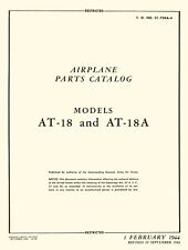 LOCKHEED HUDSON - PARTS CATALOG MODELS AT-18 & AT-18A / 1944