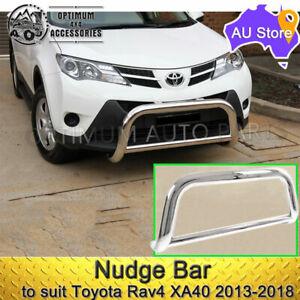 Stainless Steel Nudge Bar to suit TOYOTA RAV4 2013-2018 GX GXL Cruiser