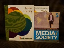 Oak Meadow Media Literacy Course Package, Set Of 3, Complete