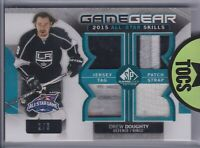 Drew Doughty 2015-16 SP Game Used All Star Game Gear Quad Materials 2/3 LA Kings