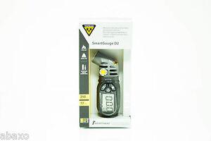 Topeak SmartGauge D2 Presta/Schrader 250 PSI Electronic Tire Air Pressure Gauge