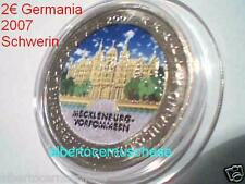 2 euro 2007 Germania color farbe Allemagne Alemania Germany Deutschland Германия