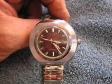 Vintage Timex Mid Century Modern Retro Watch Day Date