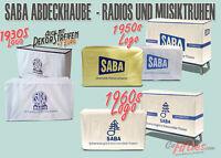 SABA Abdeckhaube Röhrenradio-Musiktruhe massgeschneidert Freiburg,Breisgau etc