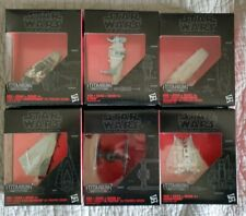 Star wars Black Series  titanium series mixed lot of 6. First Order, Resistance
