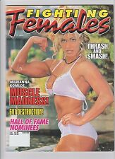 Fighting Females magazine Winter 1998 wrestling boxing Marianna Komlos