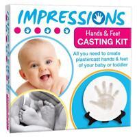 Baby Impressions Kit - Hand & Feet Plastercast Casting Kit - Cheatwell Games