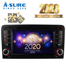 A-Sure DVD Radio GPS Sat Nav SWC 3G for Audi A3 S3 RS3 8V 8P 8PA DAB+ RDS CANBUS