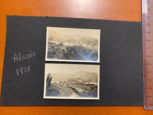 ALASSIO SAVONA 1926 2 Fotografie