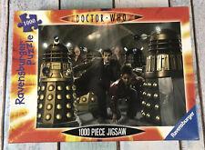 DOCTOR WHO 1000 Piece JIGSAW PUZZLE Ravensburger Daleks Pig Men Slaves no.155668