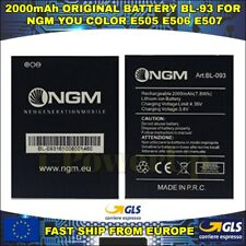 BATTERIA BATTERY BL-93 BL-093 NGM YOU COLOR E505 E506 E507 2000mAh GARANZIA ITA