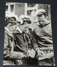 PHOTO CPA 1959 CYCLISME RDA DDR GUSTAV-ADOLF SCHUR RADRENNFAHRER