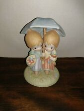 Betsey Clark Umbrella Girls Figurine ~ Special, Sharing Times Together Lot A