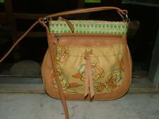 Fossil Authentic Gorgeous! multi-pocket crossbody leather bag ~ Looks unused!!