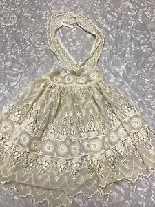 Vintage Doll Dress Ideal Vogue Bisque French German Victorian Lace