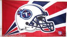 NEW 3 X 5 ft TENNESSEE TITANS HELMET LISCENSED NFL BANNER FLAG