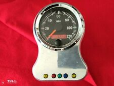Independence Motorcycles Harley Vdo Speedo 654 miles Speedometer Chopper Aih Wcc (Fits: Bourget's Bike Works)