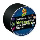 * Chalkboard Tape ~ Duck Brand Duct Tape ~ Solid Black Colored Series ~ 180in