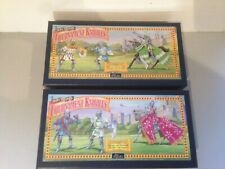 Britains Tournament Knights 08763 08764. Mounted Knight with Lance / Sword Boxed