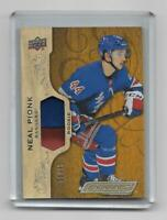 Neal Pionk 2018-19 Upper Deck Engrained Rookie Patch 6/35 New York Rangers