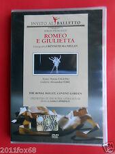 invito al balletto 4 romeo e giulietta sergei prokofiev alessandra ferri eagling