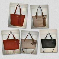 Calvin Klein Saffiano Leather Trapeze Handbag/Clair Tote/$238/NWT/Various Styles