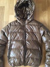 DUVETICA Pure Goose New Down Jacket, Gorgeous Khaki Colure, Size 36 (XS) UK6